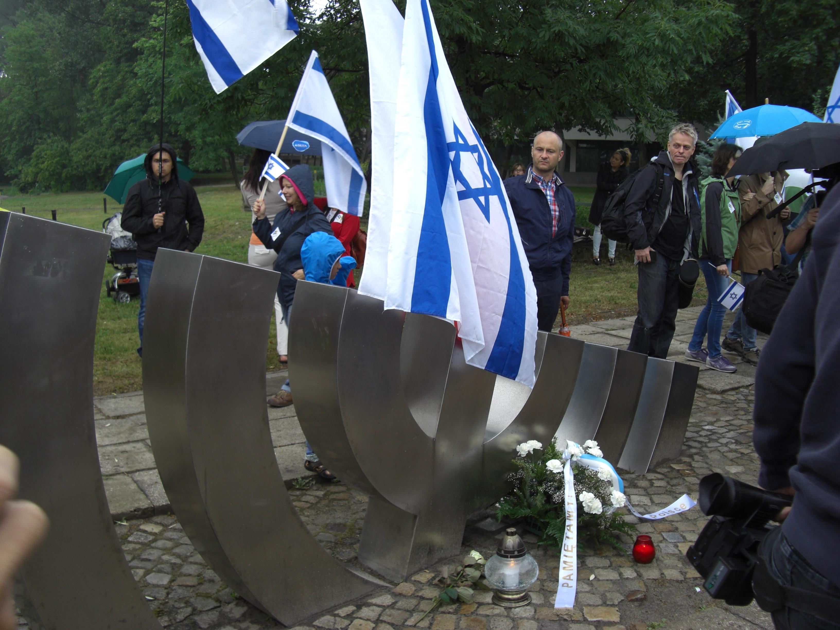 Till Minne Av Kielce Pogromen 4 Juli 1946 Xp Media Ecu Missing Pulse Detector Workaround Ed Pennings Marschen Avgick Frn Detta Minnesmrke I